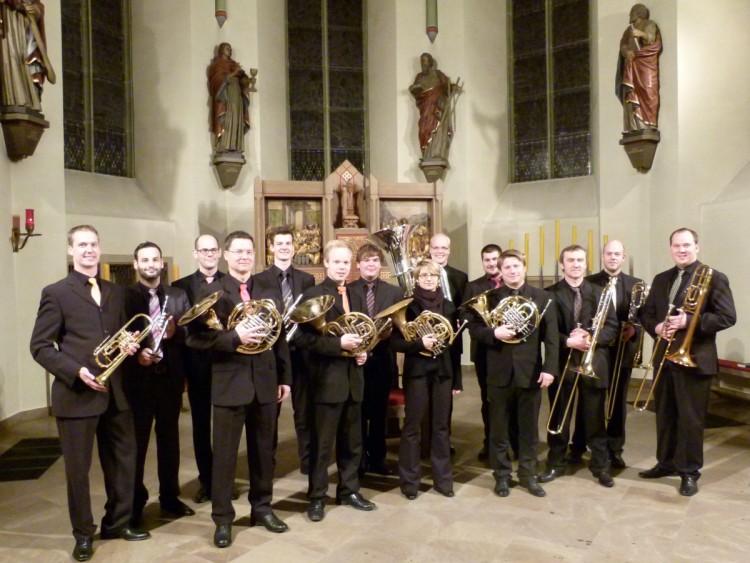 Grosse Besetzung Trombe-e-tromboni
